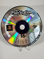 PS1 PlayStation 1 Official U.S. Magazine Issue 16 Demo Disc - Tested