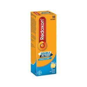 X6 Redoxon Double Action Vitamin C & Zinc 10 tablets (Orange)