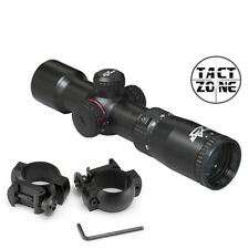 NEW Excalibur Crossbows Tact-Zone Illuminated Scope TactZone with SCOPE RINGS