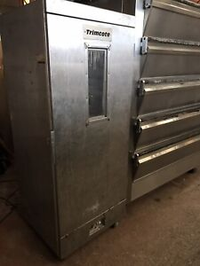 Trimcote static bread prover bakery equipment vat included