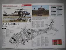 Cutaway Key Drawing of the Sikorsky H-60 Black Hawk