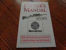 Steyr Scout Rifle Factory Original Manual