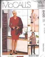 8400 UNCUT McCalls SEWING Pattern MIsses Sew News Jacket Skirt Vest Pants OOP FF