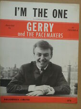 song sheet I M THE ONE Gerry + the Pacemakers 1964