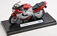 BLITZ VERSAND Yamaha YZF 1000 R Thunderace Welly Motorrad Modell 1:18 NEU