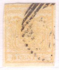 LOMBARDO VENETO 1a EMISSIONE CENT. 5, 1a TIRATURA N. 1a FIRMATO, EURO 800