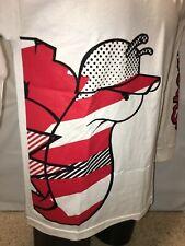 NEW Slowbucks Viral Wear Slide In Tee Men's Long Sleeve T - Shirt White Red $42