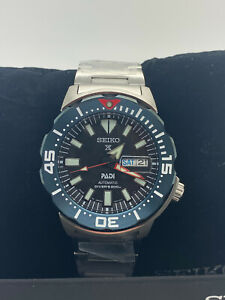 New Seiko Prospex Padi Monster Divers 200M Men's Watch SRPE27