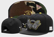 Hot Men Cayler Sons Cap Hip Hop Baseball Snapback Adjustable Black Hat 401#