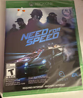 Need for Speed (Microsoft Xbox One, 2015)  BRAND NEW + FREE SHIPPING