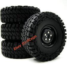4pcs RC 1/10 115mm Crawler Tires Hex 12mm Wheel Rims For RC 4WD Axial Crawler