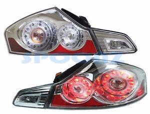 FOR INFINITI G25 SEDAN 2011-2012 TAIL LIGHT REAR LAMP TAILLIGHT 4PC SET - CHROME