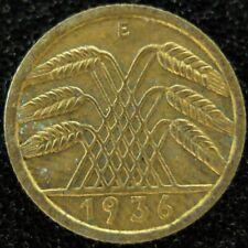 5 Reichspfennig 1936 E  -- GUTER ZUSTAND  #4281