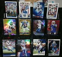 Bills RC rookie serial #d card lot Sammy Watkins E.J. Manuel A.J. McCarron