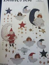 BUTTERICK CHRISTMAS CRAFT SEWING PATTERN SANTA & ANGEL ON STARS MOONS