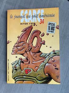 SCARCE N°34 GIL KANE K. JANSON EC COMICS 1993 EN BON ÉTAT