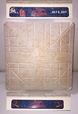 Ichiro Suzuki Game Used Base ALL TIME HITS LEADER Foreign Born Player Rod Carew