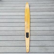 """VTG Wooden Water Ski Unbranded Lake House Wall Hanger Cabin Decor 63"""" Vintage"""