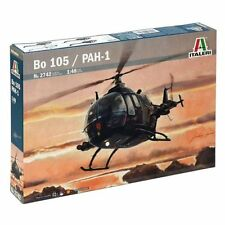 BO 105 / PAH-1 Helicopter Plastic Kit 1:48 Model 2742 ITALERI