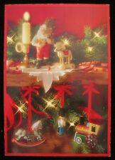 Vintage Christmas Greeting Card Photo 1980's Hallmark Keepsake Ornaments