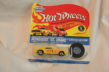 RARE HOT WHEELS 1995 VINTAGE COLLECTION DON PURDHOMME DRAG MONGOOSE VS SNAKE