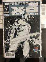 X-O MANOWAR #25 Valiant 2012 MILE HIGH Good Comics Book