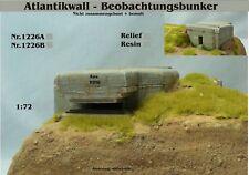 Für Diorama Nr.1226B Atlantikwall-Beobachtungsbunker 1:72 Resin