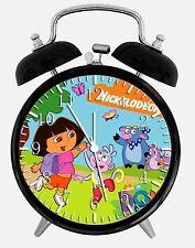 "Dora the Explorer Alarm Desk Clock 3.75"" Room Office Decor W18 Nice For Gift"