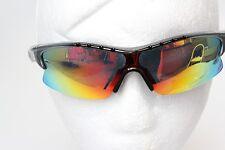 Ize Sport Golf Impact résister Polycarbonate Lunettes de soleil wrap style objectif de miroir NEUF