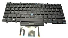 Genuine Dell Latitude E5450 E5470 5480 3340 Backlit GERMAN QWERTZ Keyboard 4JPX1