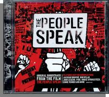 The People Speak (2009) - New Soundtrack CD! Dylan, Springsteen, Jackson Browne