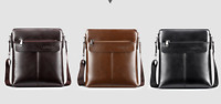 Men ShoulderBag Leather Man Bag Crossbody MessengerBag Briefcase Satchel Handbag