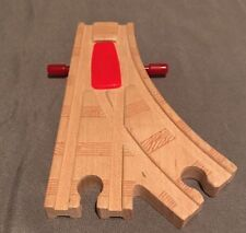Thomas & Friends Wooden Train Clickety Clack Cross Action Switch Tracks