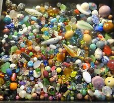 Wholesale Lot  New Fancy Assorted mix of Beads, Findings, Etc... 1/3 pound