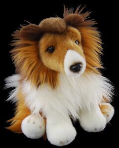 Super soft toy plush collie dog 30cm Australian stock