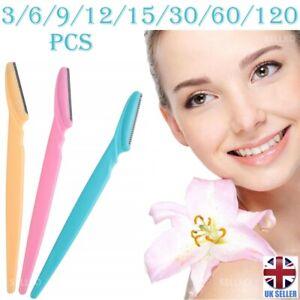 Eyebrow Razor Trimmer Blade Facial Hair Remover Shaper Dermaplaning Tool Shaver