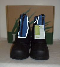 Itasca Boys Snow Stomper Mid-Calf Zipper Snow Boots Youth Size 13 Royal Blue