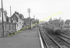 Saxmundham Railway Station Photo. Wickham Market to Darsham and Aldeburgh. (9)