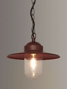 Nordlux Luxembourg Outdoor Pendant 'Weathered' Finish