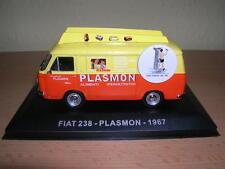 Atlas Fiat 238 Transporter Box Wagon Plasmon Baujahr 1967 , 1:43