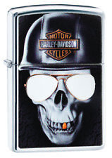 ZIPPO LIGHTER HARLEY DAVIDSON HIGH POLISH CHROME (97039) GIFT BOXED - AU STOCK !