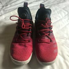 James Harden Adidas Vol 2 Men Basketball Shoes Sneakers Red Maroon UK 10.5 US 11