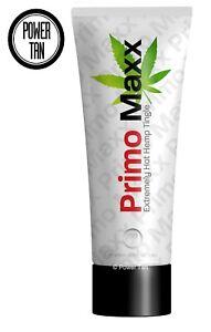 Power Tan Primo Maxx HOT Tingle Tanning Sunbed Lotion Cream Accelerator 250ml