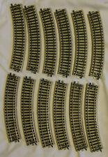 12x 5100 Marklin/Märklin M-Track HO Full Curves; Used-Good Condition
