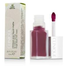 NIB CLINIQUE Pop Liquid Matte Lip Colour + Primer 03 CANDIED APPLE POP .20 fl oz