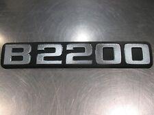 Mazda B2200 1987-1993 New OEM B2200 emblem UB73-51-720A