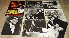 BLACULA le vampire noir photos presse argentique cinema  1972 blaxploitation