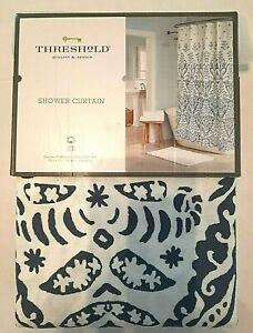 "Threshold Shower Curtain Blue 72""x72"" J"