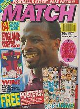 MATCH NOVEMBER 23rd 1991 CHELSEA LEEDS SPURS MAN CITY PELE COVENTRY SHEFF WED