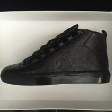 balenciaga   Men's Arena black LeatherShoes 40